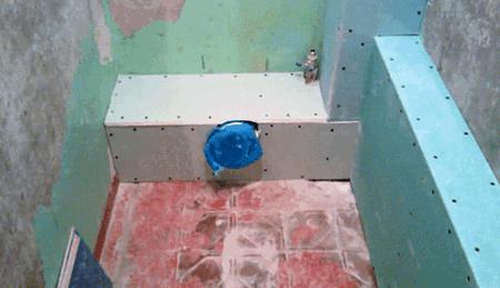 Короб из гипсокартона в туалете: закрыть трубы, как сделать и зашить, изготовление своими руками, видео монтажа