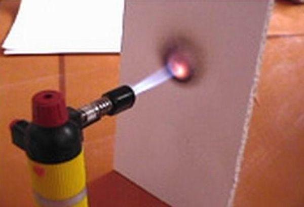Огнестойкий гипсокартон: огнеупорный и жаростойкий, ГКЛ горит ли, характеристики пожаростойкого и предел