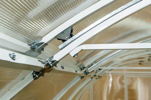 Теплица Умница: с откатной крышей, Металлсервис и отзывы, Красавица 2