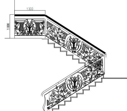 Кованые лестницы: фото ковки, элементы на второй этаж, металлическая и художественная, изготовление ступеней