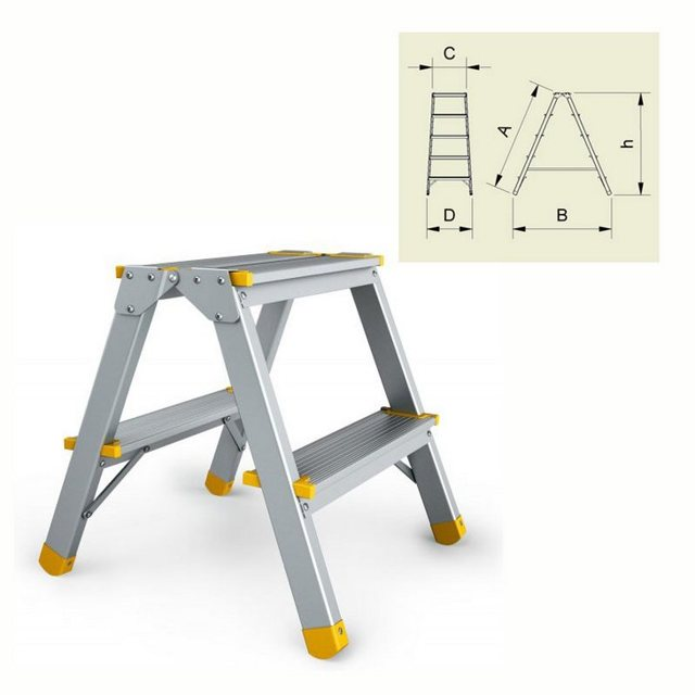 Алюминиевые лестницы: ступени krause и Алюмет, завод и профиль, садовых производитель, лучшие разборные Эйфель