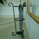 Подставка для зонтов в прихожую: Икеа, корзина и держатель, ваза с бронзы