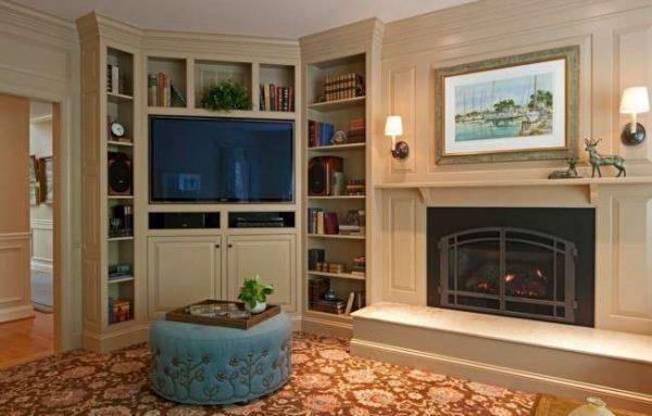 Модульные стенки в гостиную современные: фото, стильные от производителя, угловая для зала, Фигаро со шкафом
