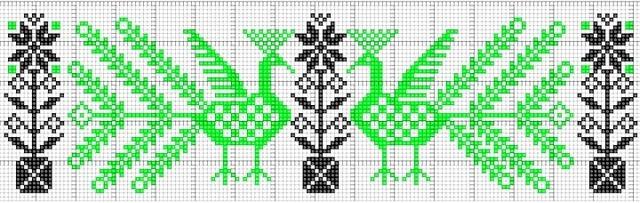 Вышивка крестом орнамент схемы: узоры черно-белые, качать бесплатно, видео-урок кельтских орнаментов