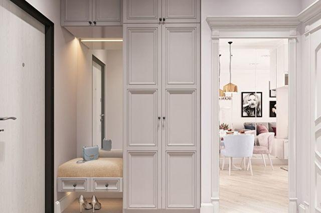 Светлая прихожая: коридор яркий, маленькие тона, дизайн и фото, темный ясень шимо, как сделать уютный ремонт