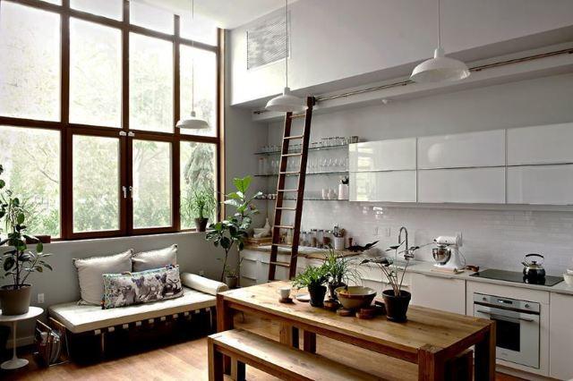 Кухня-гостиная 16 квадратов дизайн: фото кв метров, планировка и проект комнаты 16 м², совмещенный интерьер