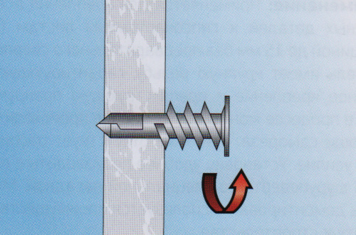 Дюбеля для гипсокартона: Молли и Дрива, анкеры и гвозди, ввертыши driva для ГКЛ, как крепить со сверлом металлический