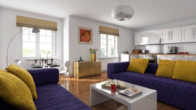 Дизайн-проект кухни-гостиной: совмещение в доме, варианты объединения, фото проектирования, зал в интерьере