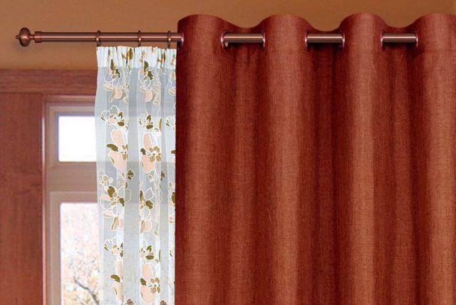 Портьеры для спальни: красивые шторы на люверсах, фото коротких до подоконника, занавески своими руками