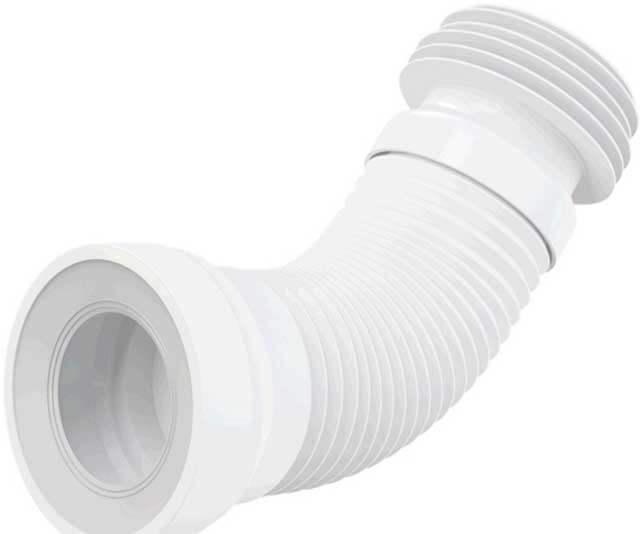 Гофра для унитаза: размеры и установка отвода, как поменять гофрированный слив, видео, замена короткой гофры