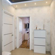 Современные идеи дизайна прихожей фото 2020: коридор маленький, интерьер небольшой, стены Икеа