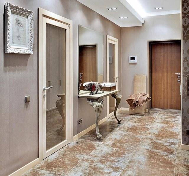 Гипсокартонный интерьер прихожей: фото своими руками, отделка коридора и дизайн