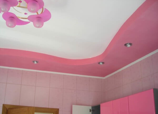 Какой потолок выбрать и как сделать своими руками