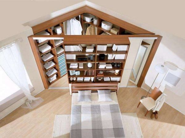 Шкаф в гостиную в современном стиле: фото угловых, зал со стеллажами, купе и подвесной шкаф