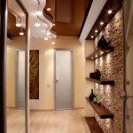 Прихожие в современном стиле: интерьер и фото, современный дизайн и идеи, квартира с малогабаритным коридором