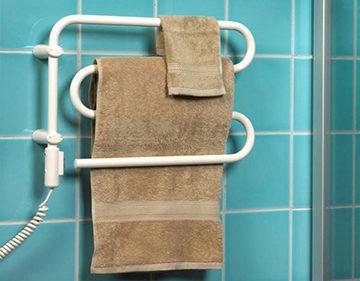 Электрический полотенцесушитель: электро какой лучше, как выбрать полотенцесушилку, мощность электронного