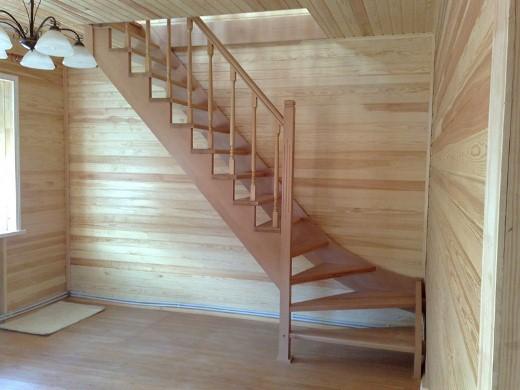 Лестницы для дачи: своими руками фото, конструкция в доме, как сделать самому турник, готовые эконом класса