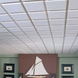 Подвесной потолок: Армстронг, фото в интерьере, из гипсокартона своими руками, типы конструкций
