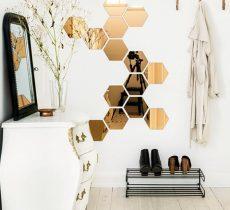 Зеркало в прихожую: фото дизайна, трюмо в интерьере, оформление в багете своими руками, большое в деревянной раме, высота современного Икеа, мини с подсветкой