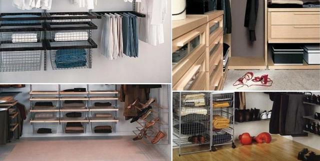 Гардеробная комната: фото вариантов, глубина при изготовлении 18 кв. м, примеры и виды, правила перегородок