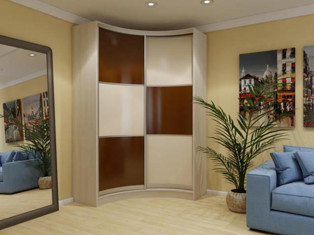 Угловой шкаф в гостиную: фото купе, мебель модульная, зал корпусный и недорогой дизайн, идеи внутри маленькой гаммы