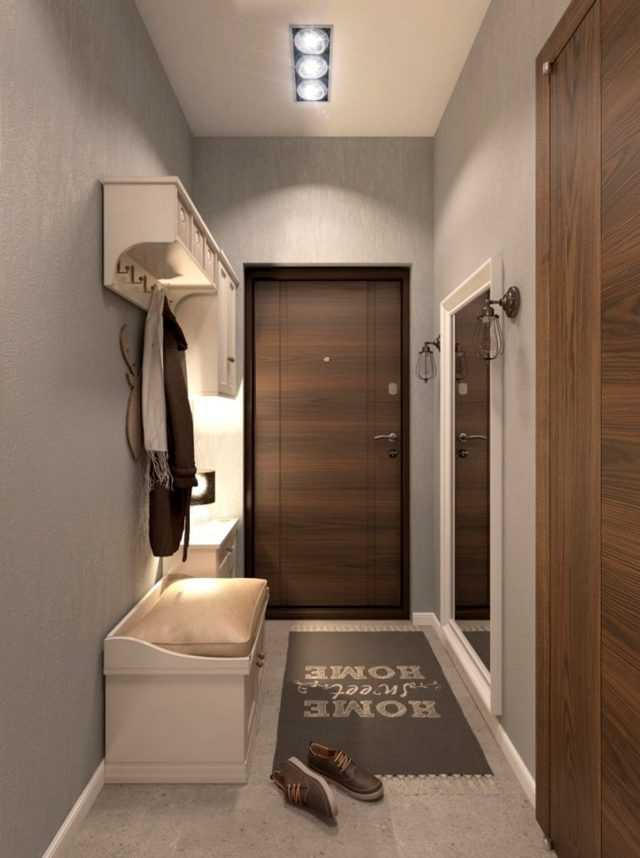 Полка в прихожую: настенная для телефона, угловых фото, для головных уборов и мелочей, органайзер в коридоре
