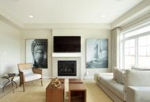Высота телевизора от пола в гостиной: на какой вешать, ТВ зона и фото, кухни расположение, угол зала лучший