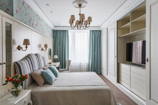 Спальня в классическом стиле: дизайн и фото, интерьер гостиной, темная и белая классика, красивая комната