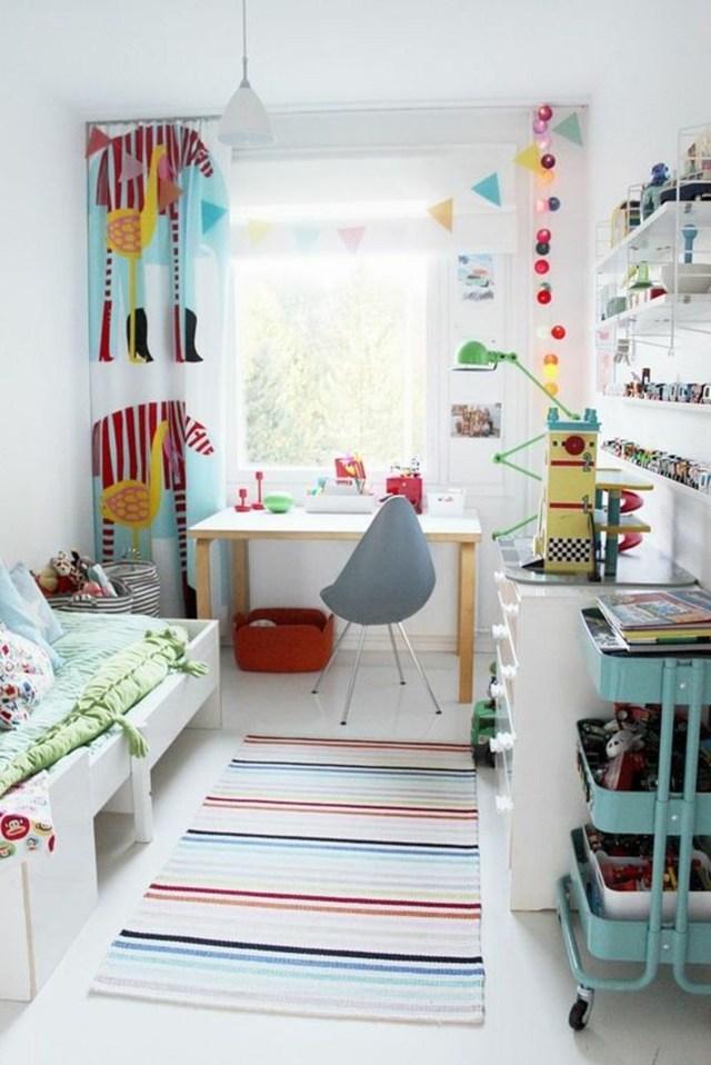 Шторы в детскую комнату для мальчика: фото, римские фотошторы, голубые занавески и картинки