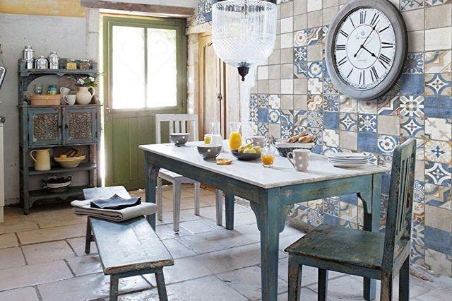 Плитка пэчворк для кухни: стиль в интерьере, для ванной шторы, лоскутные изделия своими руками