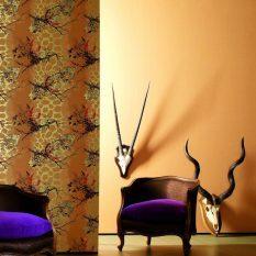 Комбинирование обоев двух цветов фото: как между собой, комбинации в интерьере, разные в одной комнате, варианты