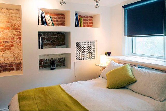 Полки из гипсокартона в спальне фото: ниши, отделка дизайн, что можно сделать