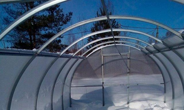 Теплица со съемной крышей: кабриолет и отзывы, флора своими руками, дельта и парник для снежных зим, Матрешка