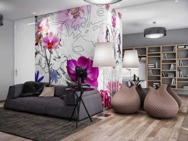 Серые шторы в гостиной: как правильно включить их в интерьер, чтобы не было скучно - homeli.ru