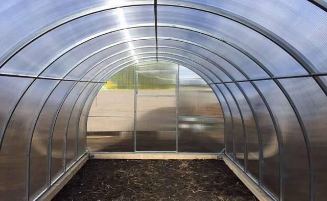 Теплицы из поликарбоната 8 метров: метровый парник, удачный урожай, ширина и длина