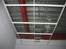Потолок Грильято: фото, монтаж, видео-инструкция, размеры и виды ячеек, производители