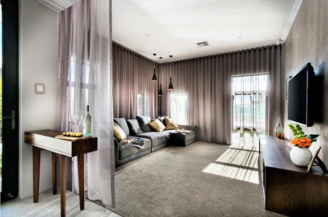 Дизайн штор для гостиной: фото окна, модные прямые, дизайнерские направления