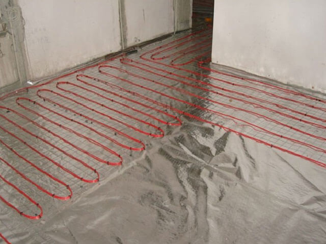 Теплый пол под линолеум: электрический и инфракрасный, укладка водяного, какой обогрев лучше, ИК пол с подогревом