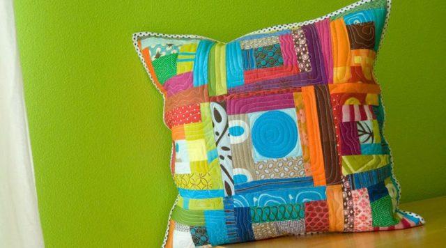 Пэчворк подушки: лоскутная техника и схемы, в стиле, своими руками шитье, фото наволочек, мастер-класс, идеи