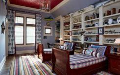 Обои для потолка: фото и каталоги, какие выбрать для интерьера, белый цвет бумажных для спальни, 3д под голубой и глянцевый, с чего начать