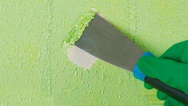 Как снять со стены жидкие обои: удалить и убрать, видео, жидкость для старых, своими руками