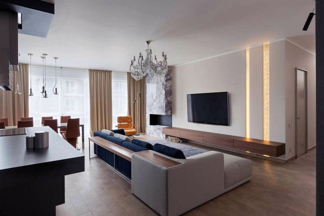Мебель для зала фото в современном стиле: модульная гостиная, системы для комнат, комоды и кресла, стеллажи